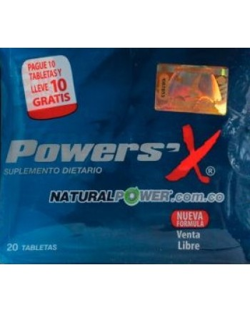 PASTILLAS POTENCIALIZADORAS  POWER-X