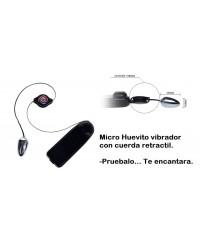 Micro Huevito con cuerda Retractil